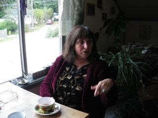 Tanya at Table